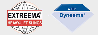 Extreema and Dyneema logos